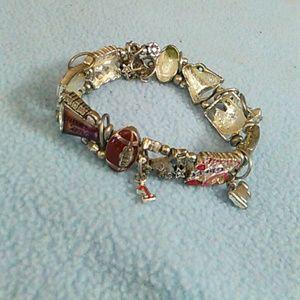 Jewelry - Cheer.football#sports mom bracelet